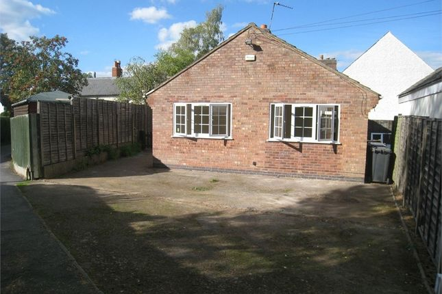 Thumbnail Detached bungalow to rent in Cottage Lane, Desford, Leicester