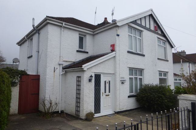 Thumbnail Semi-detached house for sale in School Lane, Treforest, Pontypridd