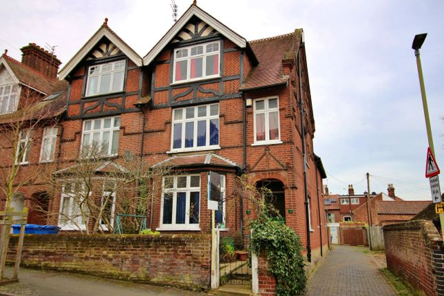 End terrace house for sale in College Road, Norwich