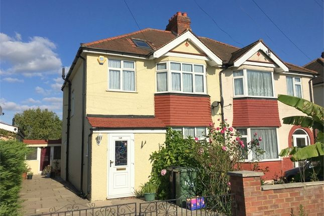 Thumbnail Semi-detached house for sale in Chessington Road, West Ewell, Epsom