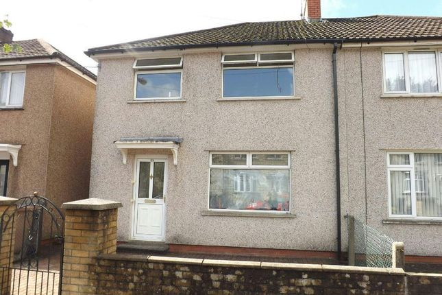 Thumbnail Semi-detached house to rent in Springfield Road, Risca, Newport