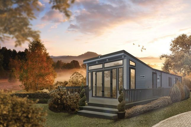 Thumbnail Mobile/park home for sale in Llanon
