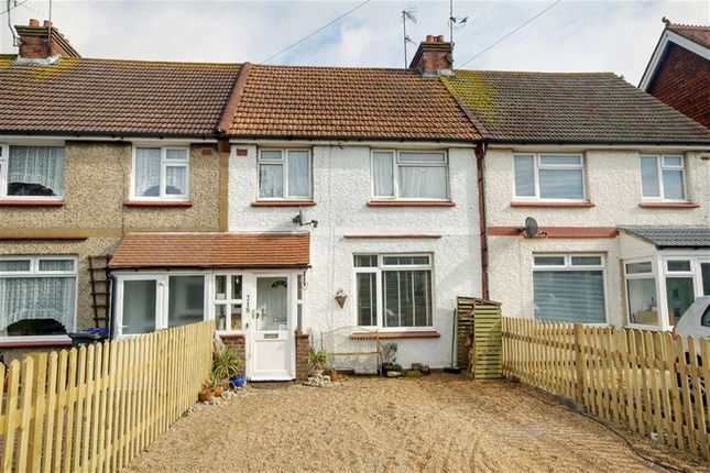 Thumbnail Terraced house for sale in Dominion Road, Broadwater, Worthing, West Sussex