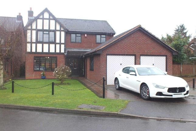 Thumbnail Detached house for sale in Haig Close, Sutton Coldfield