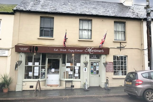 Thumbnail Restaurant/cafe for sale in High Street, Dulverton
