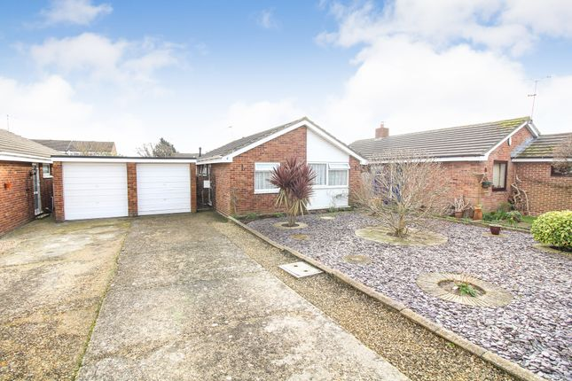 Thumbnail Detached bungalow for sale in Meadows Close, Upton, Poole
