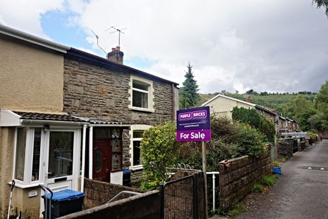 Thumbnail End terrace house for sale in Railway Terrace, Abertillery