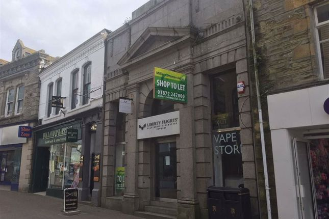 Thumbnail Retail premises to let in POP Up Opportunity, 8, Bank Street, Newquay