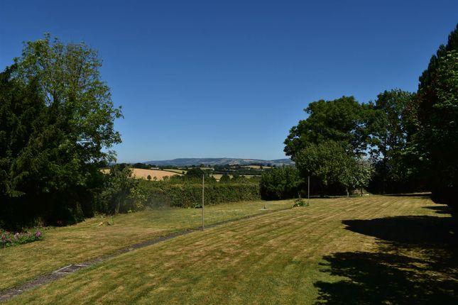 Thumbnail Detached bungalow for sale in Green Lane, Poundisford, Taunton