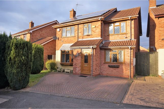 Thumbnail Detached house for sale in Ellards Drive, Wolverhampton