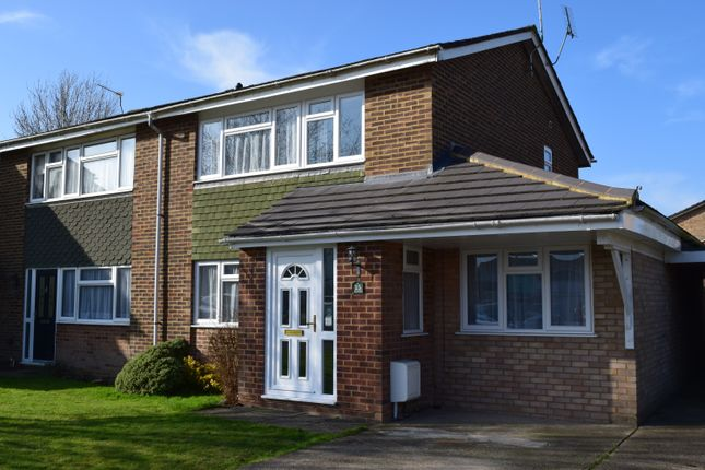 Thumbnail Semi-detached house for sale in Wellfield, Hazlemere, High Wycombe