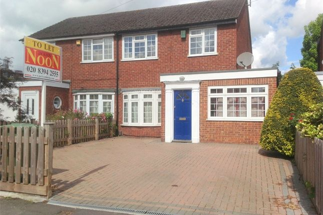 Thumbnail Semi-detached house to rent in Plough Road, West Ewell, Epsom