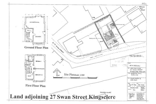 Thumbnail Detached house for sale in Swan Street, Kingsclere, Newbury