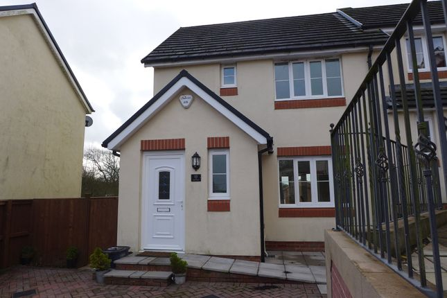 Thumbnail End terrace house for sale in Y Glyn, Hayscastle, Haverfordwest