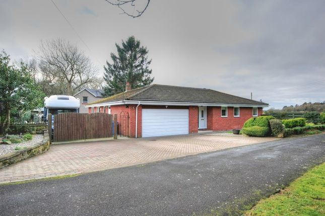 Thumbnail Detached bungalow for sale in Fairmoor, Morpeth