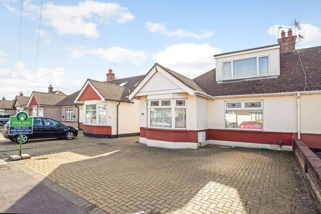 Thumbnail Bungalow for sale in Portland Gardens, Chadwell Heath, Romford