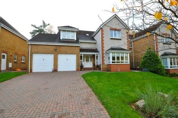 Thumbnail Detached house to rent in Fernlea, Bearsden, Glasgow