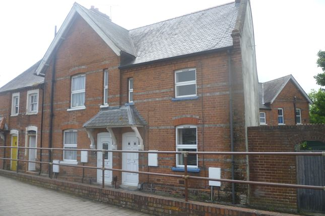 Thumbnail End terrace house to rent in Newtown Road, Newbury