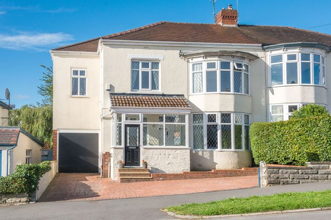 Thumbnail Semi-detached house for sale in Whirlow Court Road, Sheffield