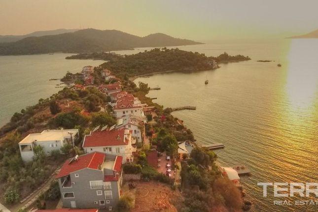 Thumbnail Detached house for sale in Şövalye, Fethiye, Muğla, Aydın, Aegean, Turkey