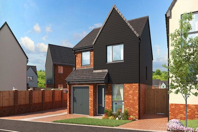 Thumbnail Detached house for sale in The Fir Eaves Lane, Stoke-On-Trent