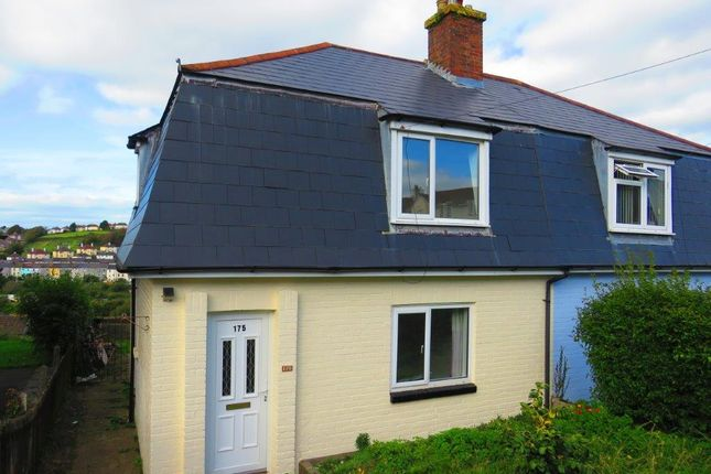 Thumbnail Semi-detached house for sale in Ladysmith Road, Plymouth