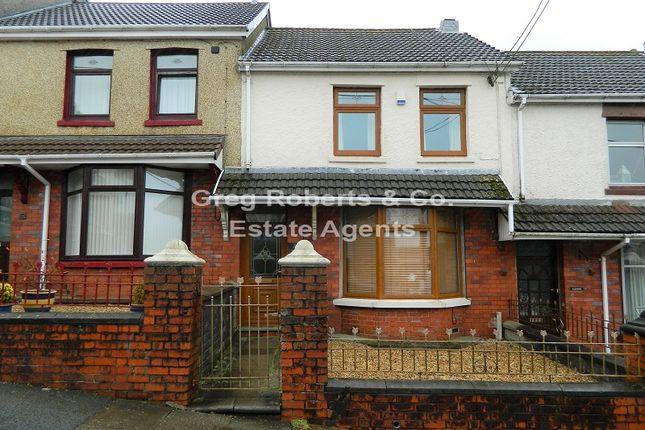 Thumbnail Terraced house for sale in Fields Road, Tredegar