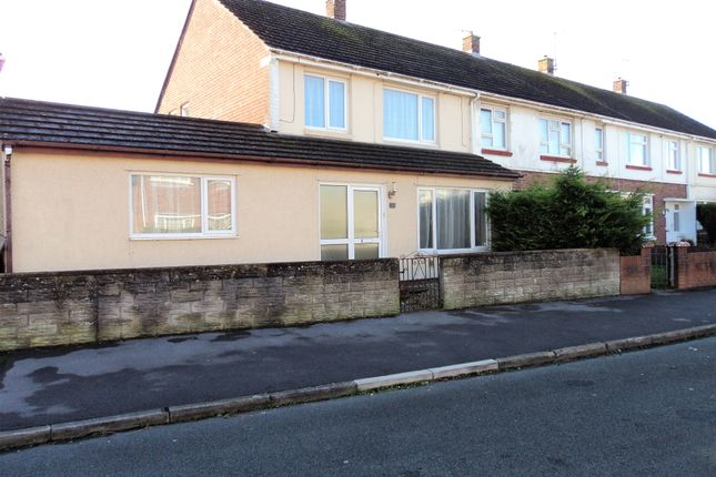 Thumbnail Semi-detached house to rent in Meadow Lane, Porthcawl