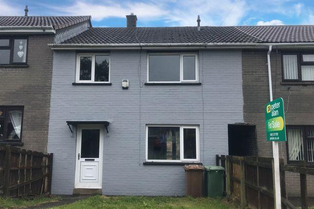 Thumbnail Terraced house for sale in Ty Llwyd Walk, Aberbargoed, Bargoed
