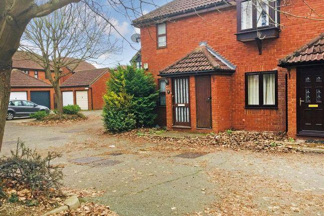Thumbnail End terrace house for sale in Windsor Gardens, Croydon, Surrey