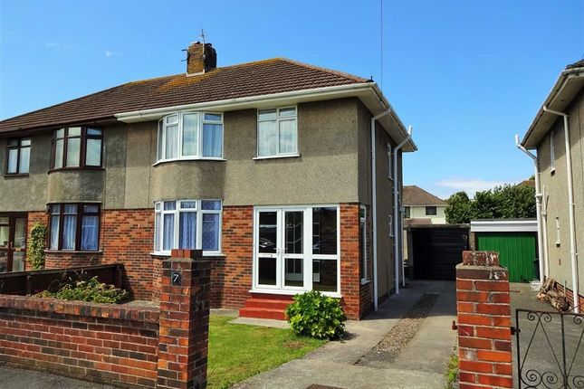 Thumbnail Semi-detached house to rent in Newbourne Road, Weston-Super-Mare