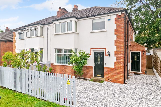 Thumbnail Semi-detached house for sale in Spring Bank Crescent, Leeds