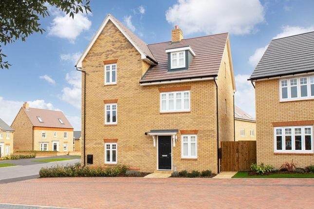 "Thumbnail Semi-detached house for sale in ""Queensville"" at Southern Cross, Wixams, Bedford"