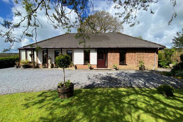 Thumbnail Detached bungalow for sale in Ffarmers, Llanwrda