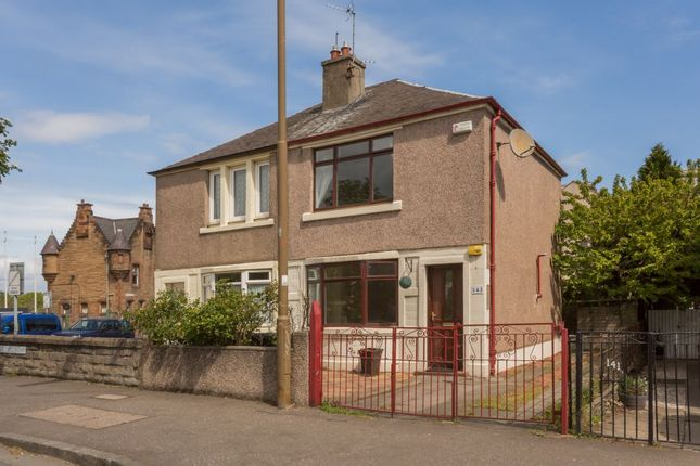 Thumbnail 2 bedroom semi-detached house for sale in 143 Mcdonald Road, Edinburgh