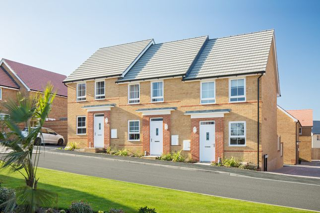 "Thumbnail Terraced house for sale in ""Bampton"" at Captains Parade, East Cowes"