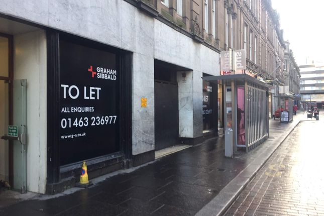 Thumbnail Retail premises to let in 7-17 Union Street Ground Floor, Inverness