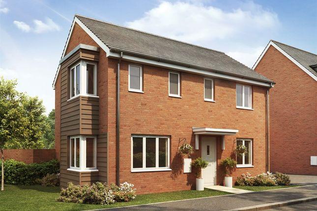 "Thumbnail Detached house for sale in ""The Clayton "" at Goshawk Green, Leighton Buzzard"