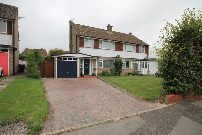 Thumbnail Semi-detached house for sale in Shaston Crescent, Dorchester