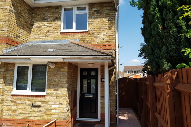 Thumbnail End terrace house to rent in Oxford Road, Denham