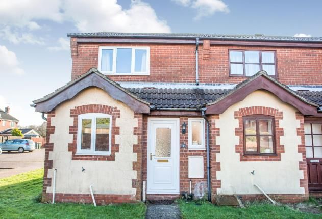 Thumbnail End terrace house for sale in Mundesley, Norwich, Norfolk