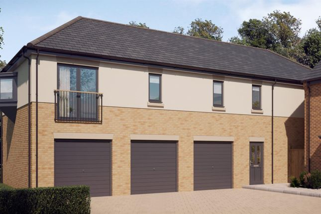 Thumbnail Semi-detached house for sale in Off Ashby Street, Priors Hall, Rockingham