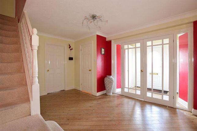 Hallway of Ryegrass Close, Walderslade, Chatham, Kent ME5