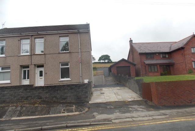 Thumbnail Semi-detached house for sale in Llethri Road, Felinfoel Llanelli