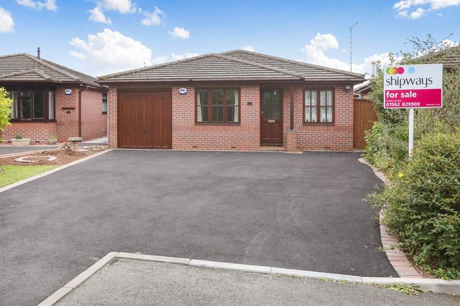 Thumbnail Detached bungalow for sale in The Hollies, Stourport-On-Severn