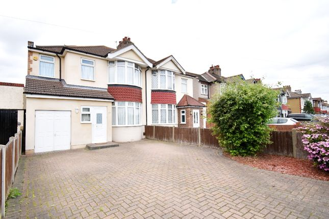 Thumbnail Semi-detached house to rent in Wennington Road, Rainham, Essex