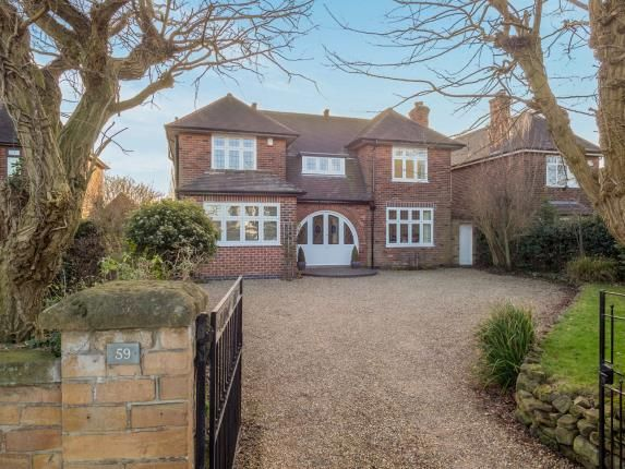 Thumbnail Detached house for sale in Bramcote Lane, Wollaton, Nottingham, Nottinghamshire