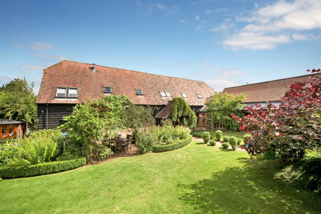Thumbnail Barn conversion for sale in Eastbury, Hungerford