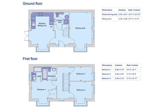 Floor Plan of Waterland, St. Neots PE19