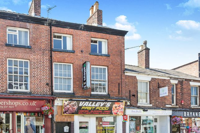 Thumbnail Flat to rent in High Street, Congleton
